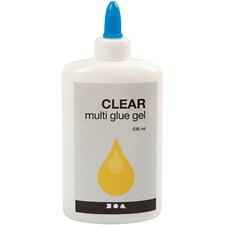 Clear Multi glue gel, 236ml