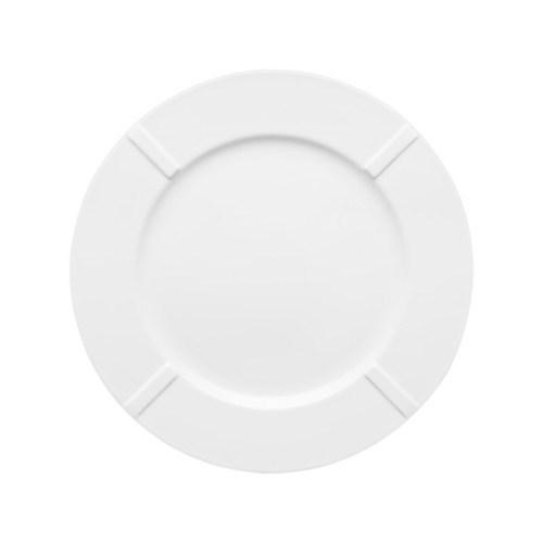 Kosta Boda Bruk Tallrik Dia 27 cm Porslin Vit - tallrikar & skålar