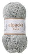 Alpacka Solo Ullgarn 50g Ljusgrå (29106)