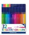 Staedtler Fargeleggingspenner Triplus® color 32-stk.  1 mm fiberspiss.