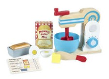 Wooden Make-a-Cake Mixer Set, Melissa & Doug