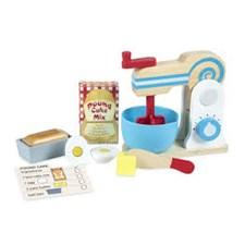 Wooden Make-a-Cake Mixer Set, Melissa & Doug