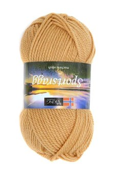 Viking of Norway Sportsragg 50 gr Okergul 546