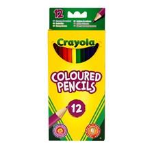Träfärgpenna Crayola 12-pack
