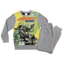 Joggingset, Jurassic World, Grå, strl 7år