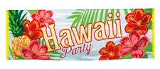 Banner Hawaii Party 74x220 cm