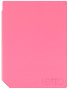 Suojakotelo Letto Frontlight, vaaleanpunainen