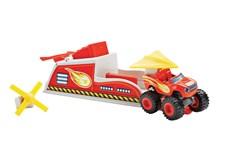 Blaze Turbo Launcher, Blaze och Monstermaskinerna