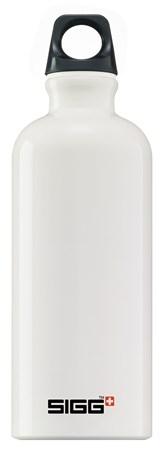 Drikkeflaske, Traveller, 0,6 L, Hvit, SIGG