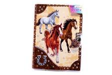 Dagbok Med Lås, Hästar