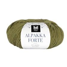 Dale Garn Alpakka Forte Garn 50 g Vårgrønn melert 706