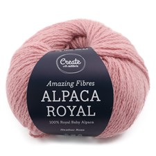 Adlibris, Alpacka Royal, 50 g, Heather Rose A720