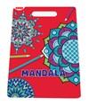 Mandala målarbok, fria former