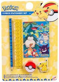 Skrivesett 5-deler, Pokémon