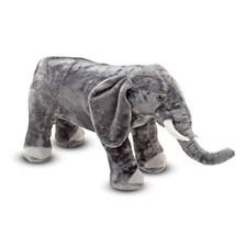 Elefant, Stort mjukisdjur, Melissa & Doug