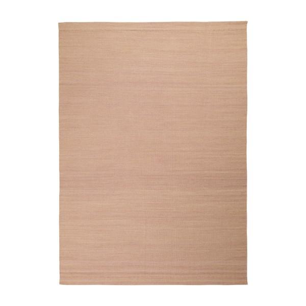 Inget (Storm) Linum Triveso Matta 100% Ull 180 x 240 cm Misty Grey Pink