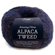 Adlibris, Alpacka Tweed, 50 g, Starry Night A740