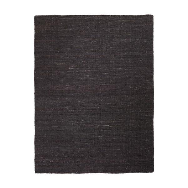 Inget (Storm) Linum Sorrento Matta 100% Jute 180 x 240 cm Black