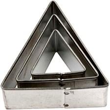 Kakformar Triangel 3 st