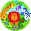 Tallrik, 8 st, Jungle Animals