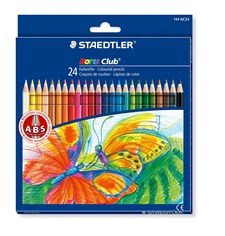 Färgpennor Staedtler Noris Club 24-pack