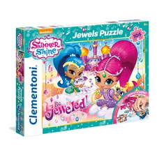Pussel Shimmer 6 Shine Jewels, 104 bitar, Clementoni