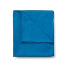Sköna Hem Lakan i Tvättad Bomullspercale 270x270 cm Blue sapphire