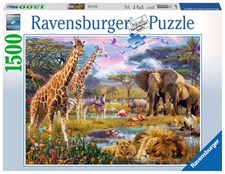 Colorful Africa, Puslespill 1500 biter, Ravensburger
