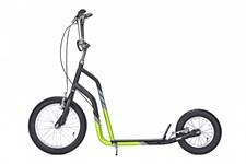 Yedoo City, Sparkesykkel med lufthjul, Svart/Grønn