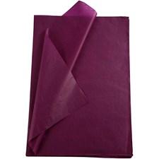 Silkepapir, ark 50x70 cm, 19 g, 25 ark, violet