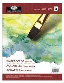 A4 Akvarellblock Tandat Papper 25 Ark Royal & Langnickel