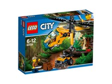 Djungel transporthelikopter, LEGO City Jungle Explorers (60158)