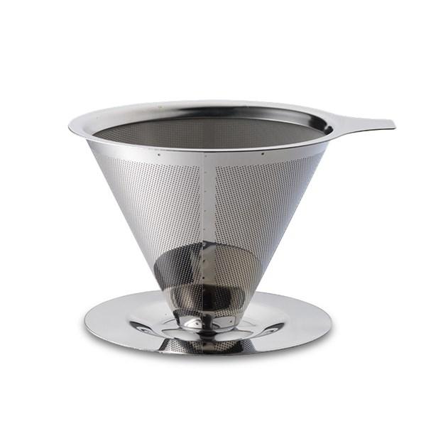 Teministeriet Kaffefilter 22 cl Rostfritt stål silver (silver)
