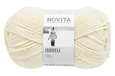 Novita Isoveli Garn Ullmix 100 g naturvit 010