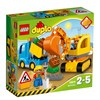 Auto ja telakaivuri, Lego Duplo (10812)