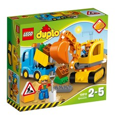 Lastbil Och Grävmaskin, LEGO DUPLO Town (10812)