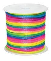 Snöre regnbågsfärg på rulle Playbox