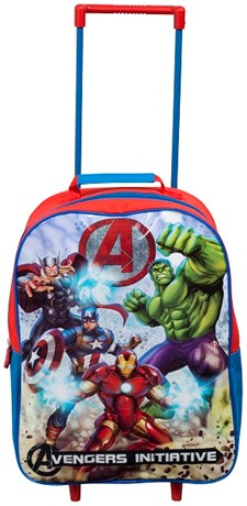 Resväska Röd Och Blå, Liten Trolley, Avengers