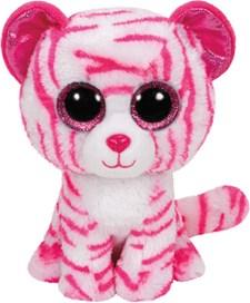 TY Asia, Hvit/rød tiger, 23 cm
