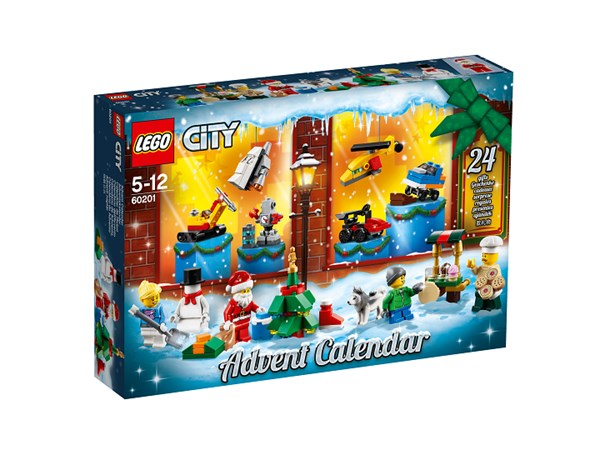 Adventtikalenteri 2018, LEGO City (60201)