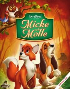 Disney Klassiker 24 - Micke och Molle (Blu-ray)