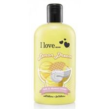 I Love...Lemon Dream Bath & Shower Crème 500ml