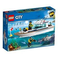 Dykaryacht, LEGO City Great Vehicles (60221)