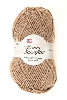 Viking of Norway Merino Superfine 50 gr Beige 607