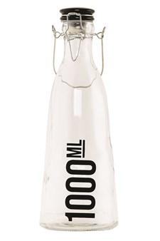 Glassflaske med keramikkork, 1 L, House Doctor