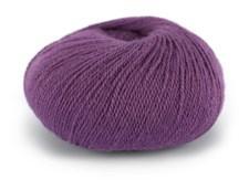Du store Alpakka Wool Garn Ullmix 50 g Mørk Syrin 514