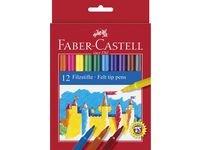 Faber-Castell Fibertusjer Barn 12 pakning