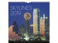 Väggkalender Skylines - 1795