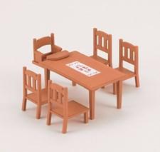 Matbord och stolar, Sylvanian Families