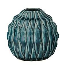Bloomingville Maljakko Kiveä Halkaisija 12 cm, Korkeus 11 cm Vihreä